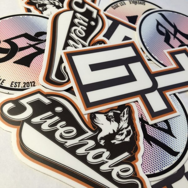 5ivehole sticker pack