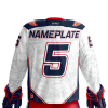 next rebel xwings custom sublimated hockey jersey back light