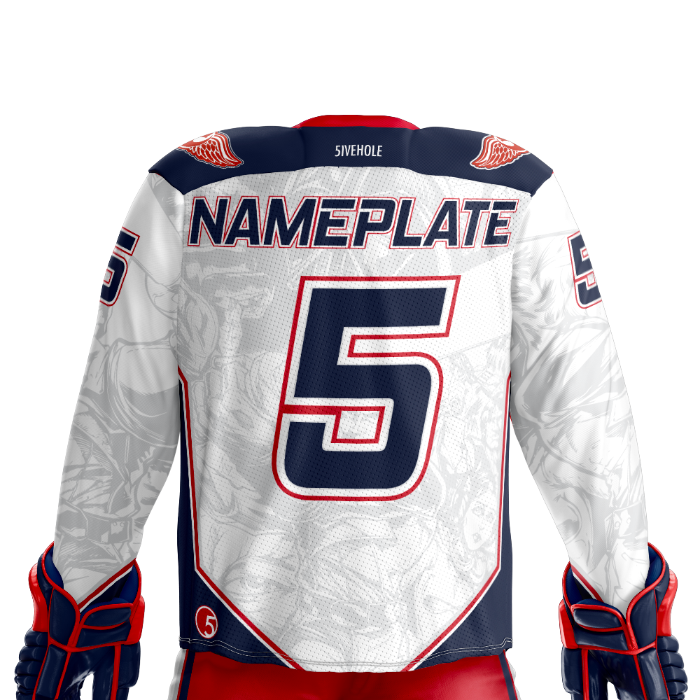 next rebel xwings custom sublimated hockey jersey back light c39865b65
