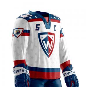custom sublimated hockey jersey   5IVEHOLE