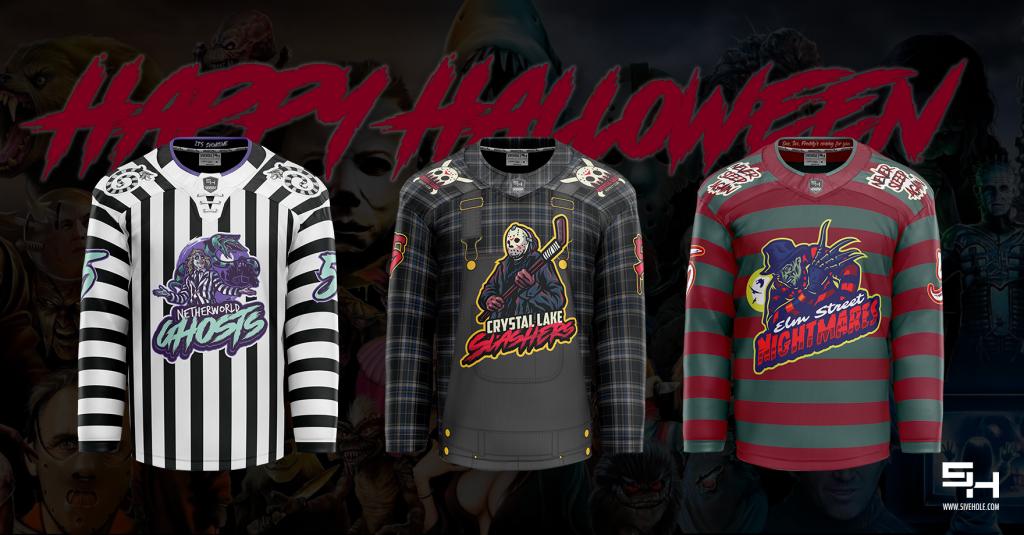 horror movie hockey jersey